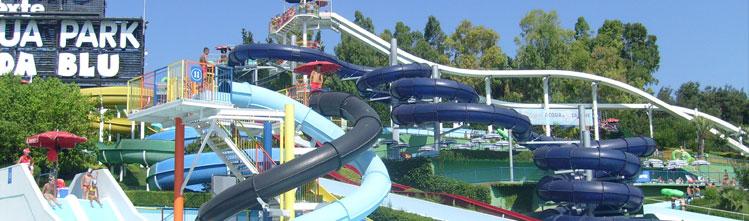 Onda blu acquapark hotel vicino al parco acquatico di - Rimini terme orari piscina ...